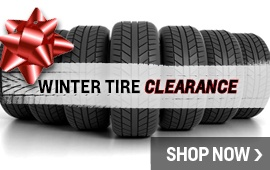 Winter Tire Clearance Pricing!