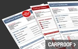 Get Your CarProof Report