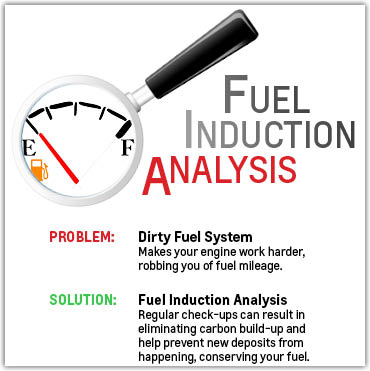 Fuel Induction Analysis