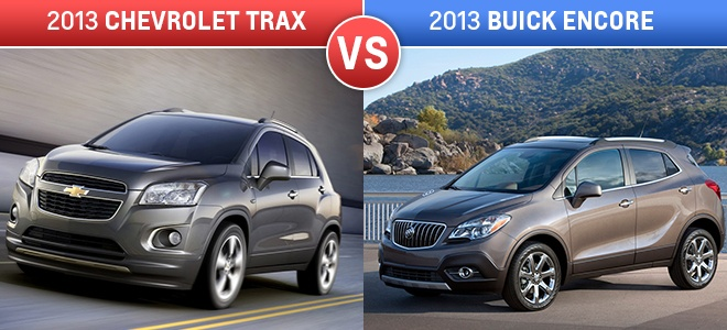 chevrolet trax vs buick encore why the trax trumps the. Black Bedroom Furniture Sets. Home Design Ideas