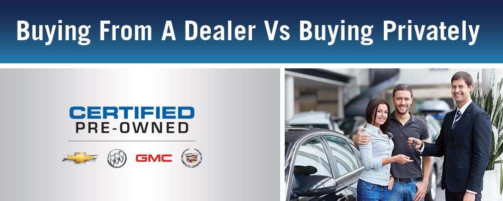 Buying From a Dealver VS Private Purchase