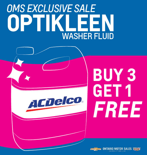 Exclusive Washer Fluid Sale