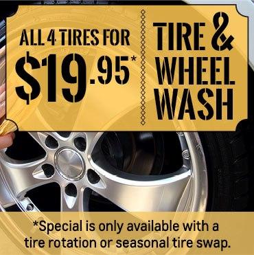 Tire & Wheel Wash Special