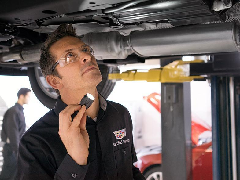 Every Cadillac Certified Pre-owned vehicle receives a complete 150 point inspection