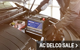 View some of our best offers for ACDelco products
