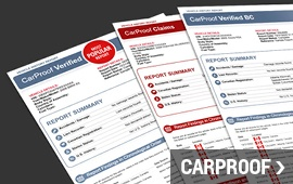 Get Your CarProof Report