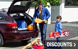 See if you qualify for any discounts at Ontario Motor Sales