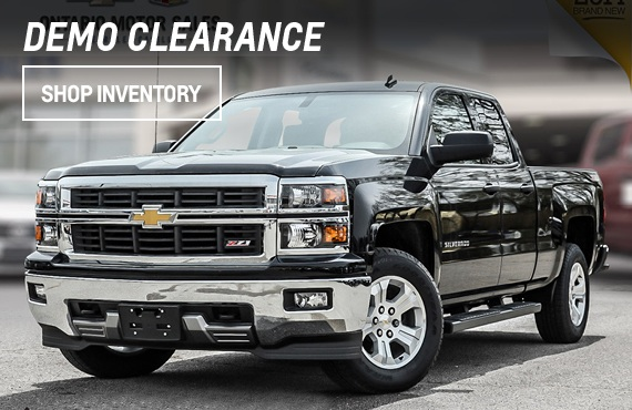 Click here to view our current inventory of Demo vehicles