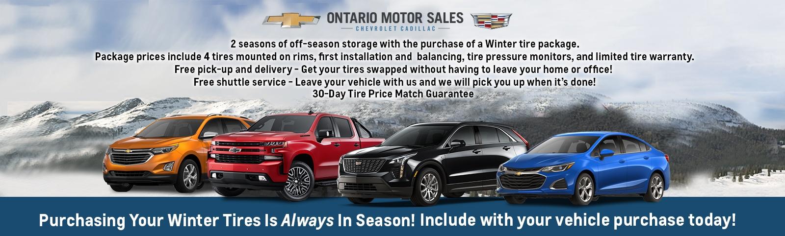Winter Tire Offer Header1