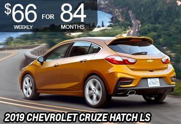 Cruze Hatch LS