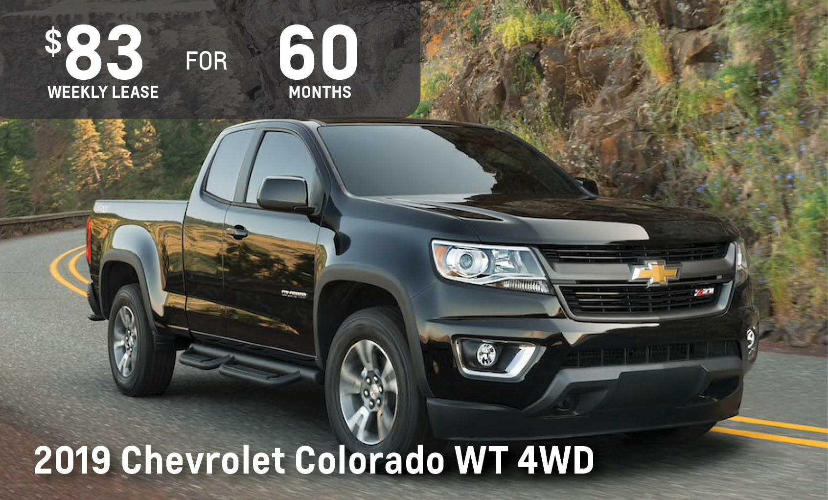 June 2019 Chevrolet Colorado Sale Ontario Motor Sales
