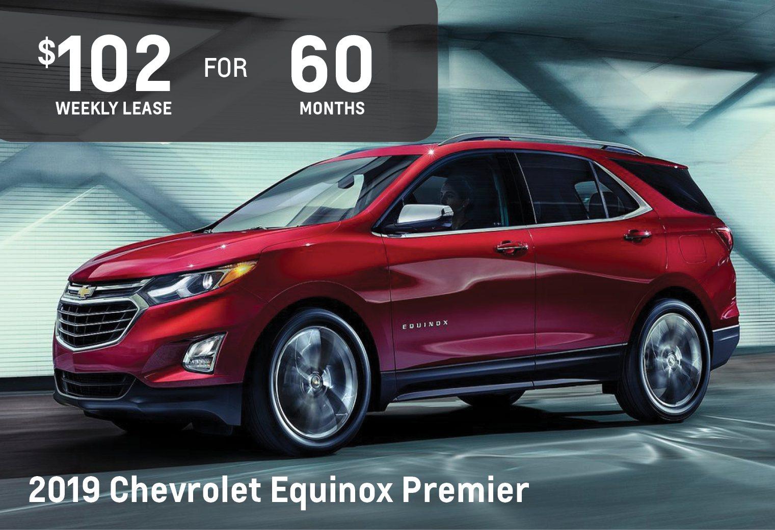 August 2019 Chevrolet Equinox Sale - Ontario Motor Sales