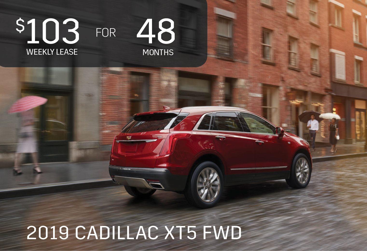 August 2019 Cadillac XT5 Sale - Ontario Motor Sales