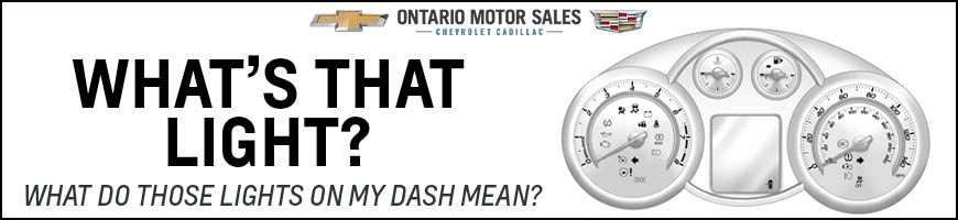 What Do Those Lights on my Dash Mean? - Ontario Motor Sales