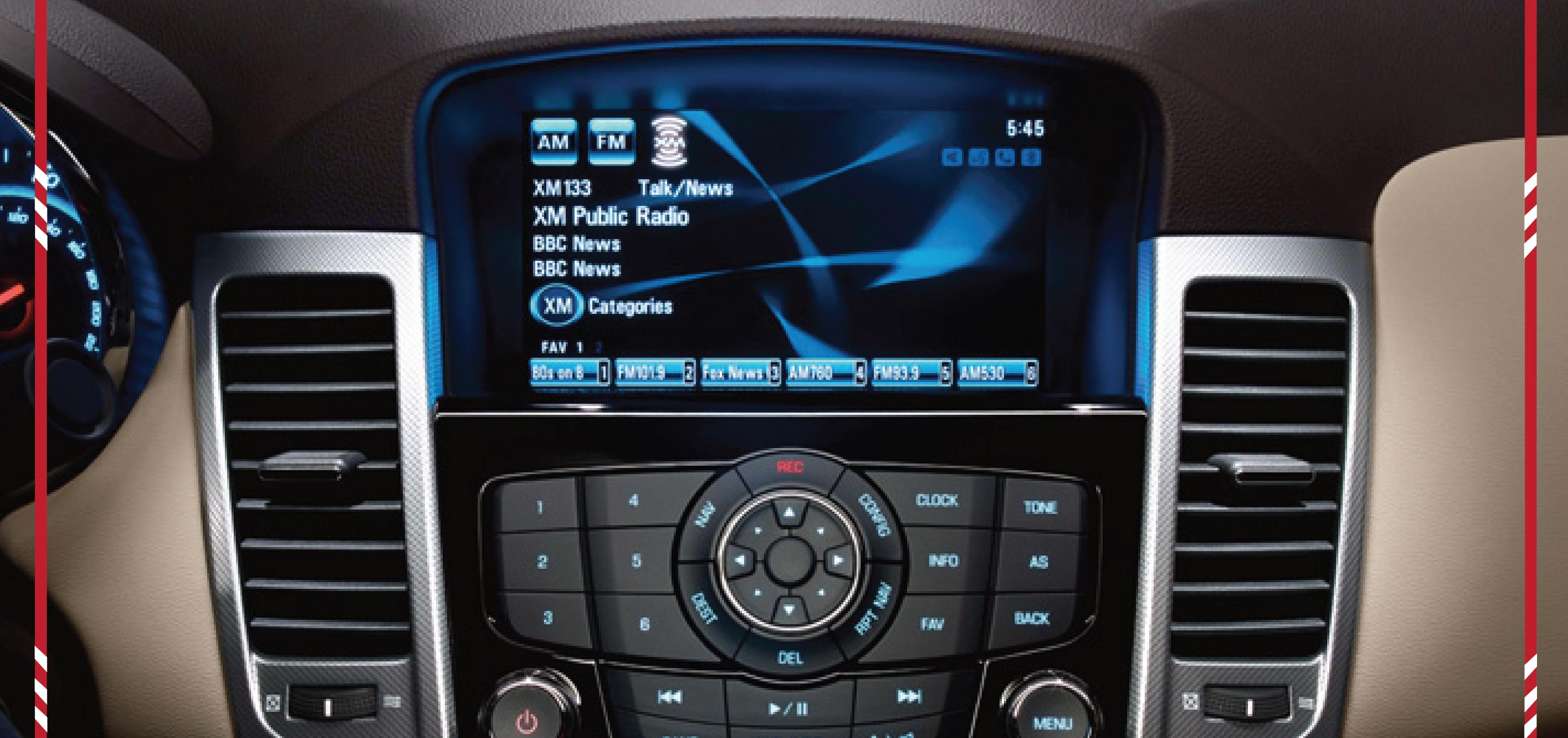 Chevrolet Cruze Interior 2
