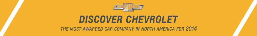 Discover Chevrolet: The Most Awarded Car Company for 2014
