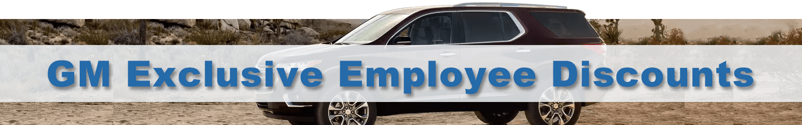 gm employee deals