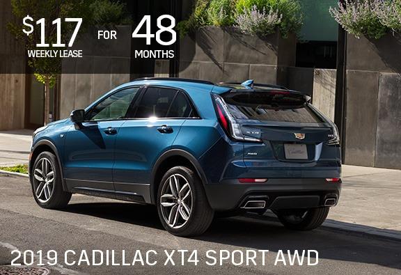 2019 Cadillac Xt4 Gm Employee Sale Ontario Motor Sales