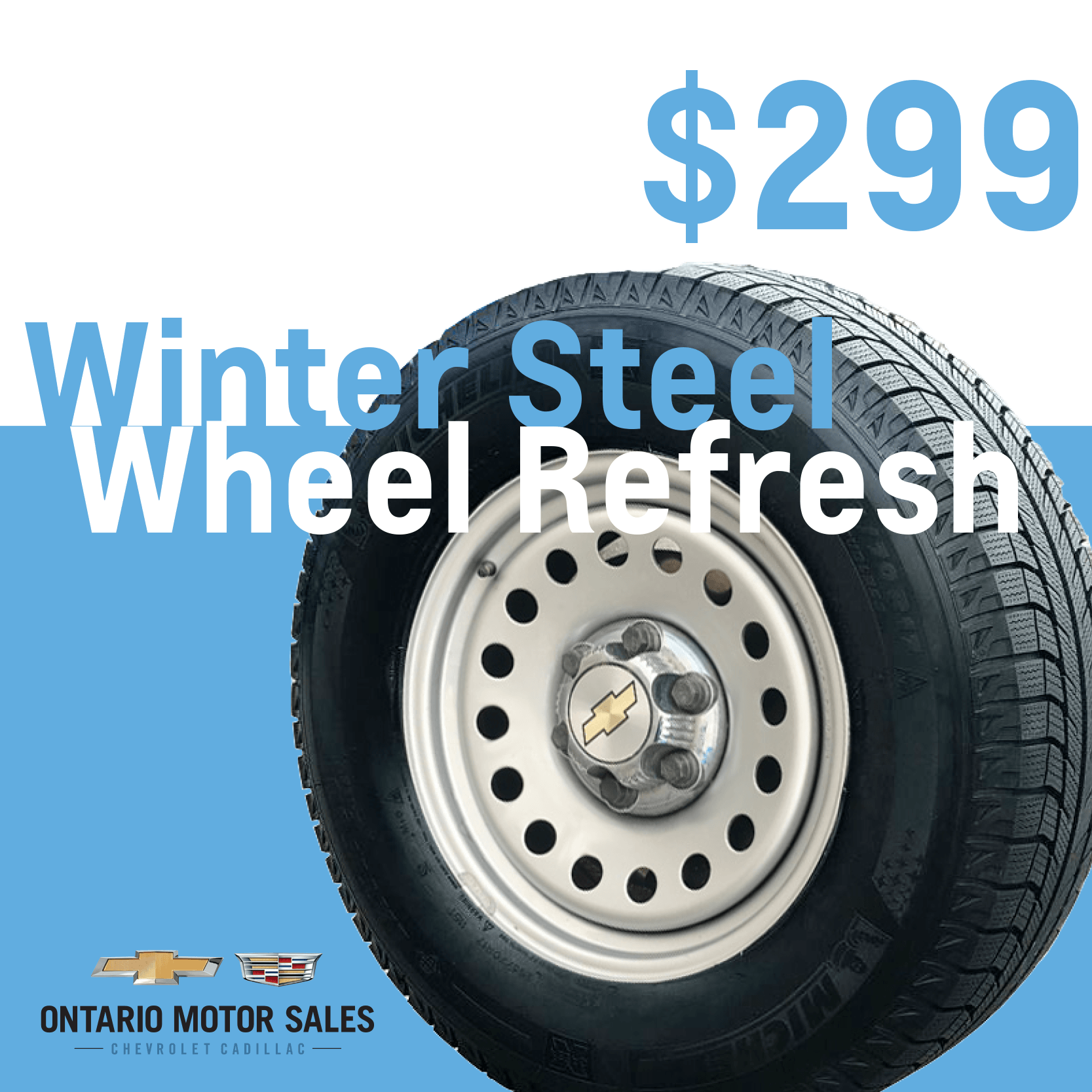 Winter Steel Wheel Refresh