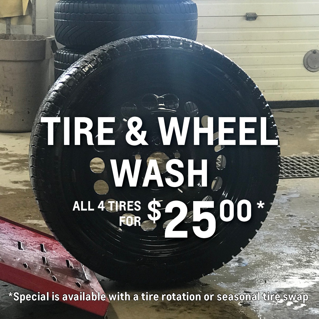 Tire & Wheel Wash Special