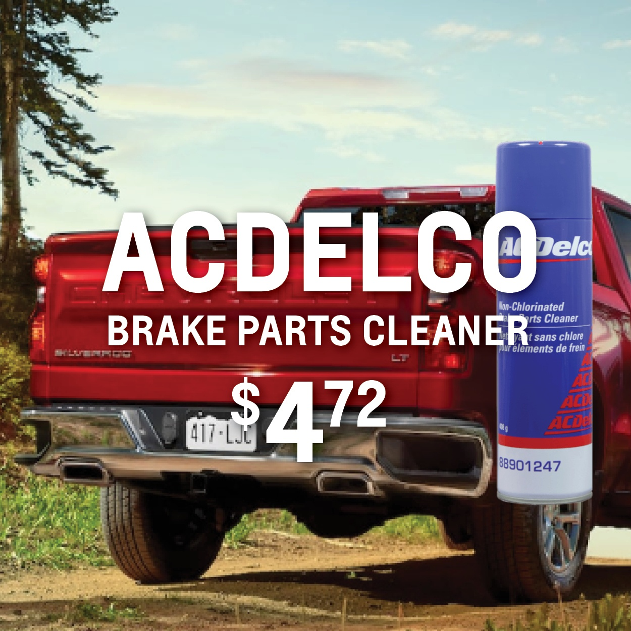 ACDelco Brake Parts Cleaner