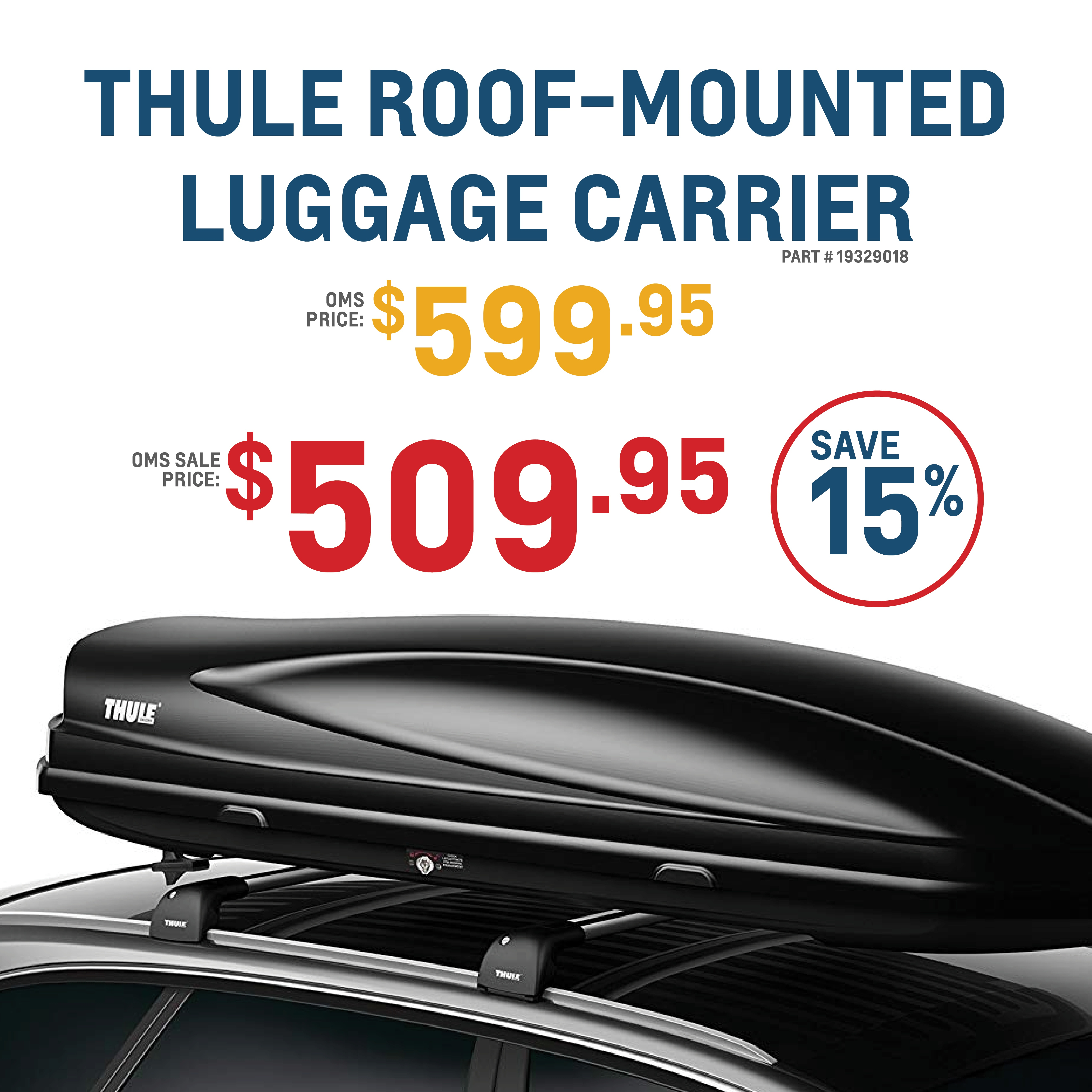 Thule Roof-Mounted Luggage Carrier