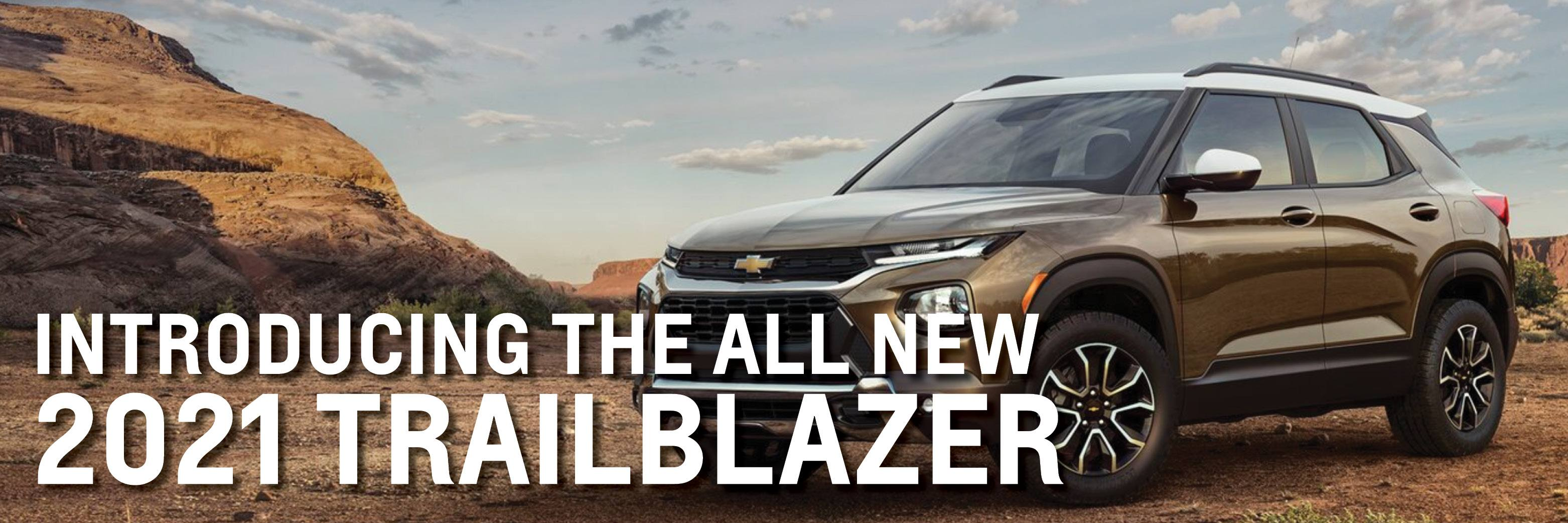 Introducing the 2021 Trailblazer