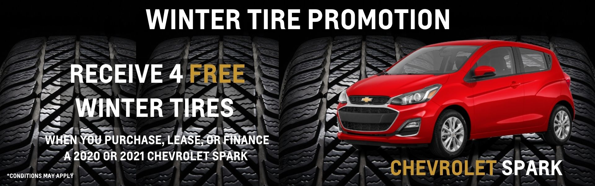 free winter tires spark