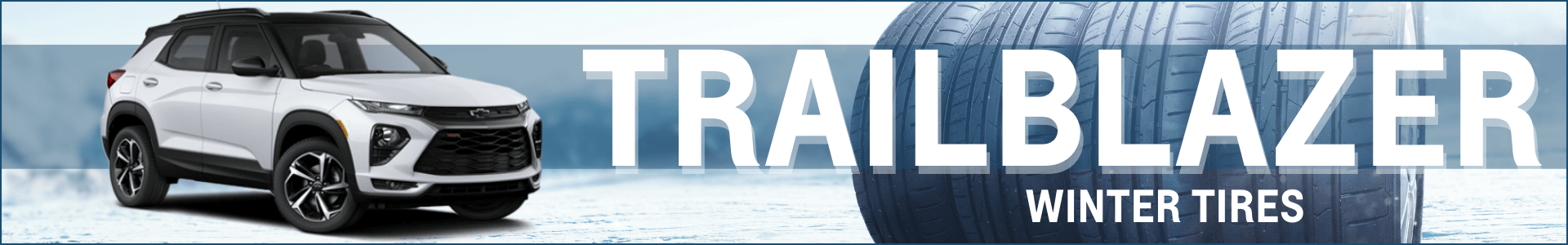 Trailblazer winter tire deals
