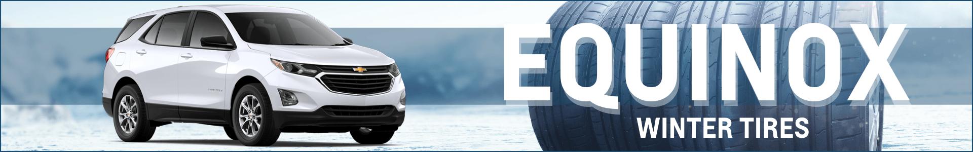 Winter tire deals equinox