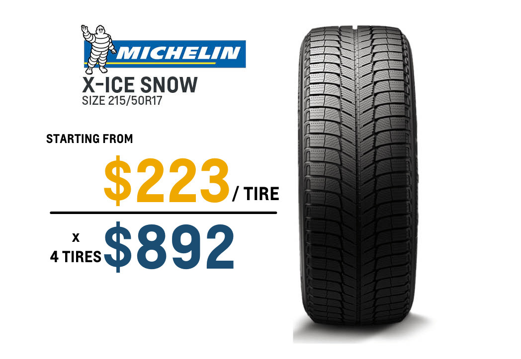 Michelin Winter Tire deals