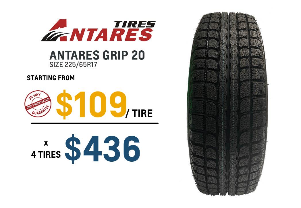 Antares winter tire deals in Oshawa