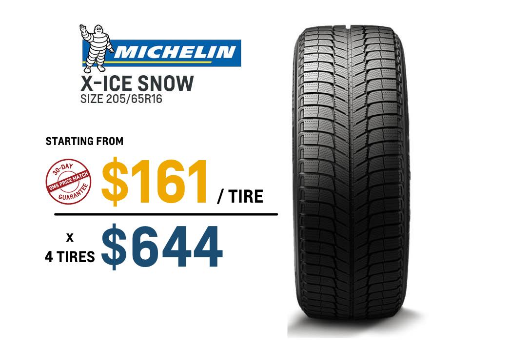 Michelin winter tire deal Malibu