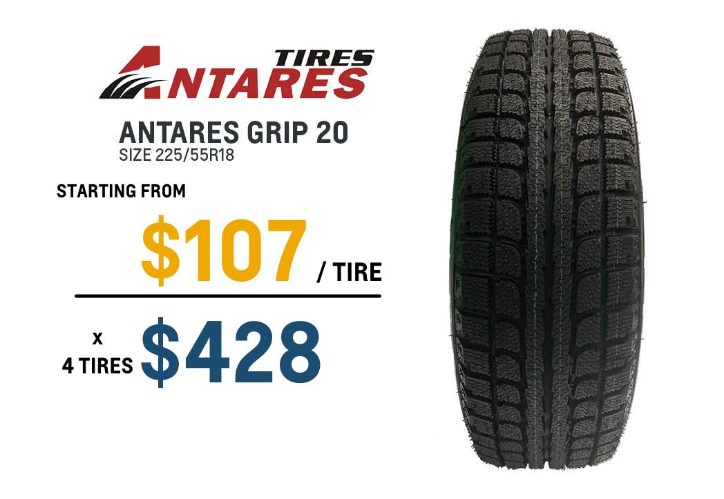 Trailblazer winter tires Antares