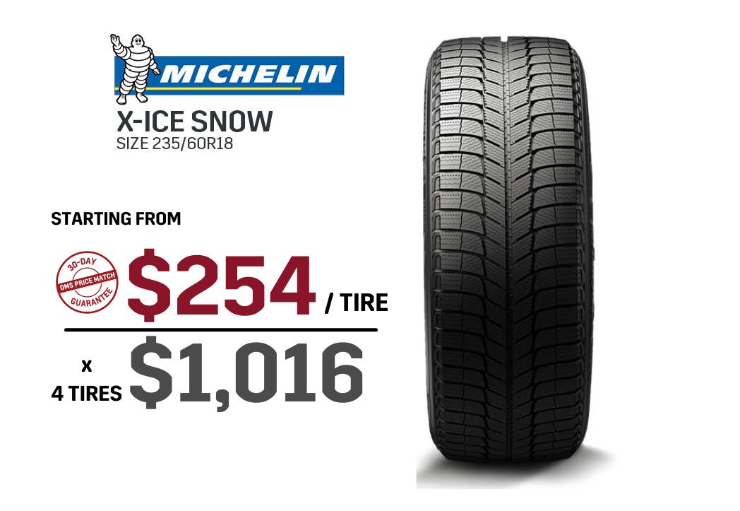 Michelin winter tire deal