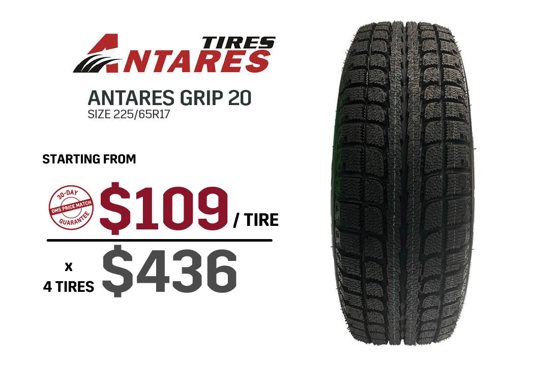 Antares winter tire deal