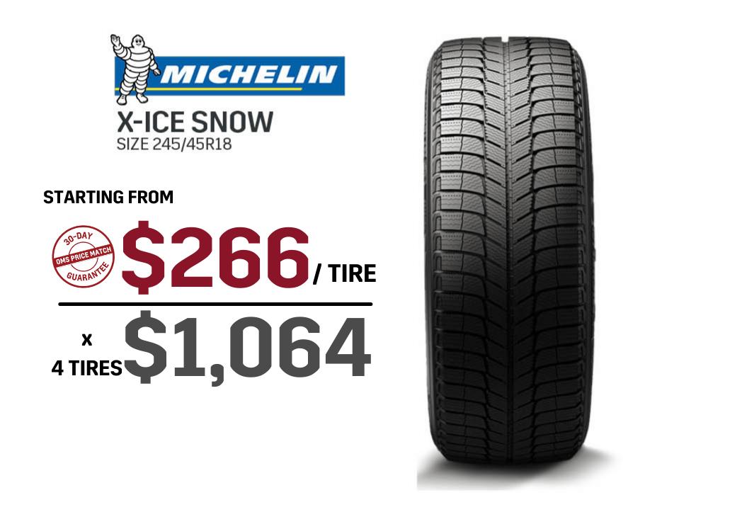 Michelin Ice winter tire deals