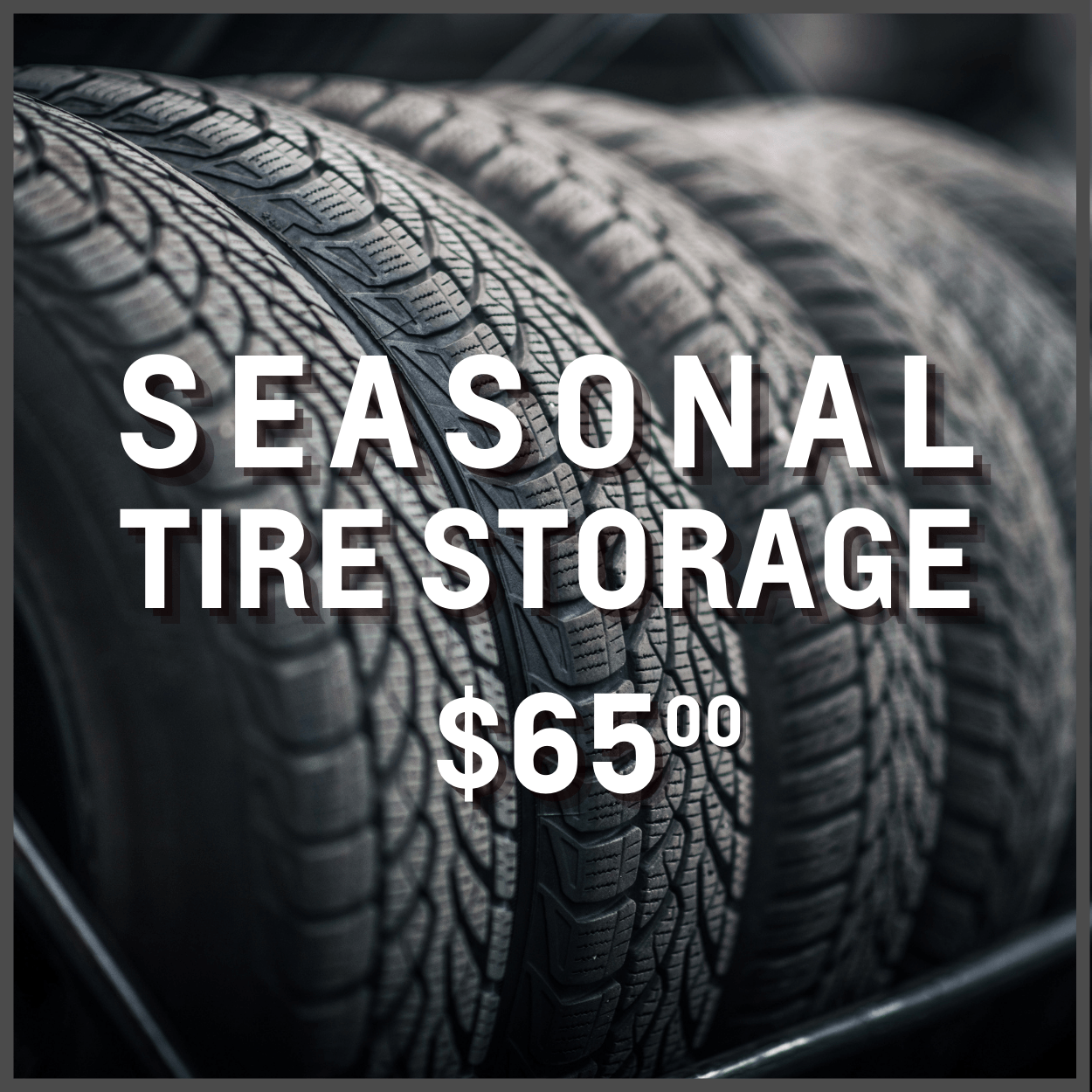 Tire storage in Oshawa