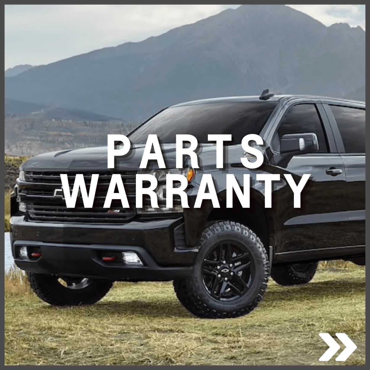 GM Parts Warranty