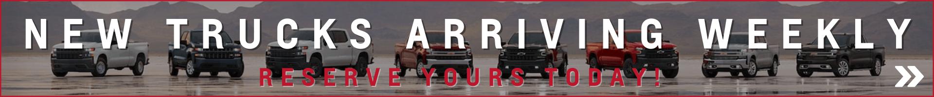 Silverado Reserve your truck Oshawa