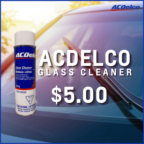 AcDelco glass cleaner