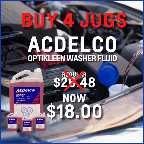 ACDelco washer fluid sale