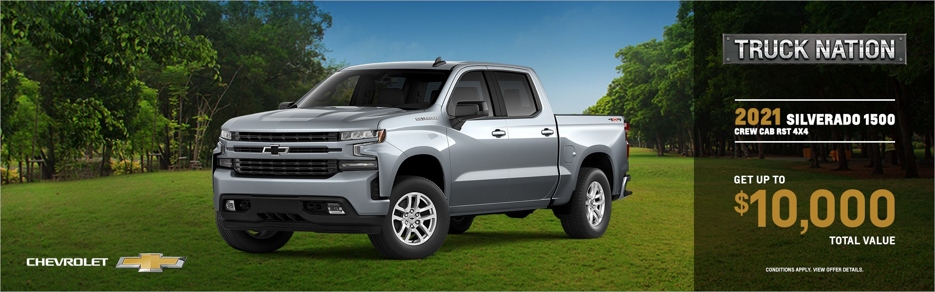 Silverado Truck Nation May Promotion