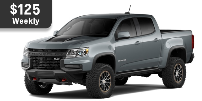 Chevrolet Colorado ZR2 Oshawa
