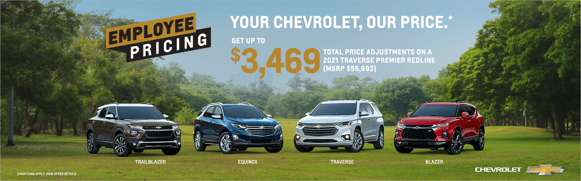 Your Chevrolet, our price