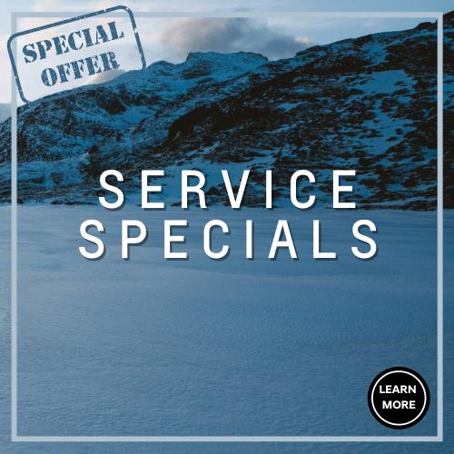 Winter service specials Oshawa