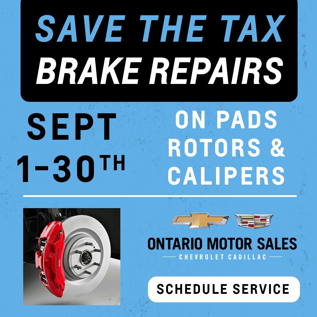Brake repair service Oshawa