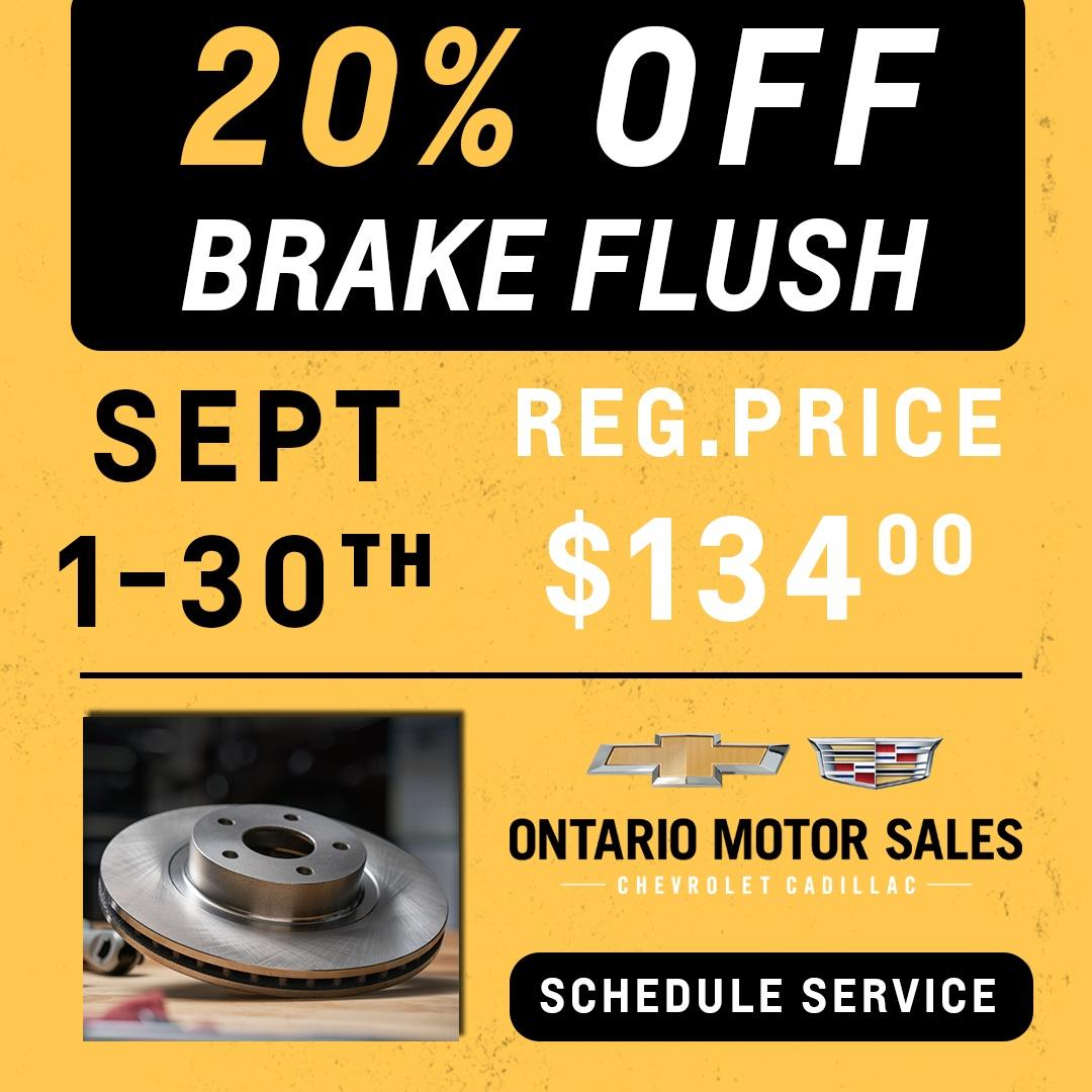 Brake Flush Service Oshawa