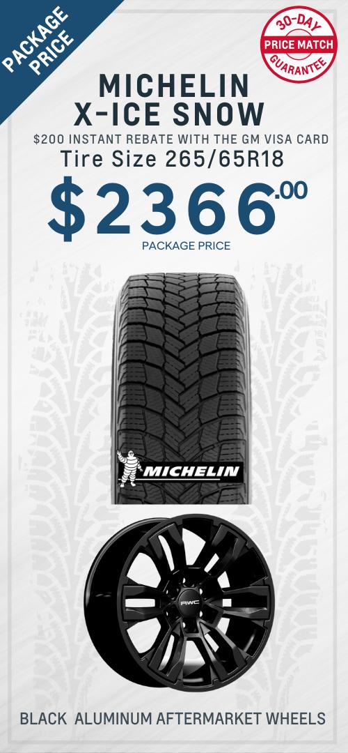Silverado Michelin Tires Oshawa