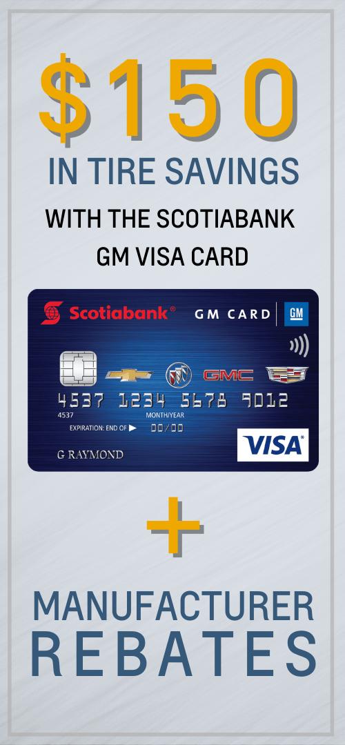 GM Scotiabank Visa Card Oshawa